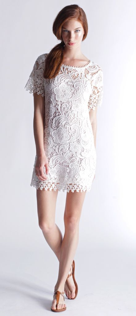 Venice Patchwork Lace dress by Yoana Baraschi. Just in!