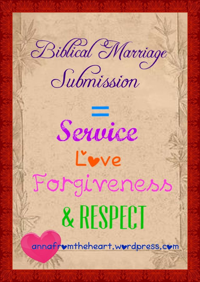 Marriage Submission