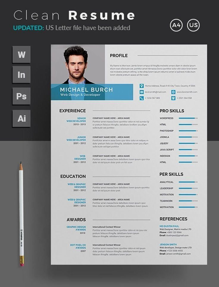 17++ Professional resume template word free download Format