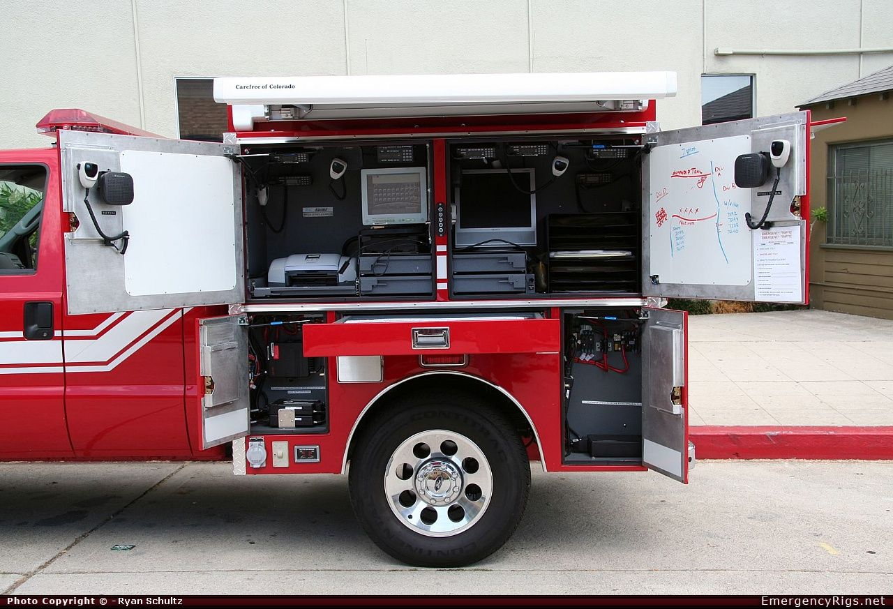 Master Body Works Commercial Cab Command Los Angeles Fire