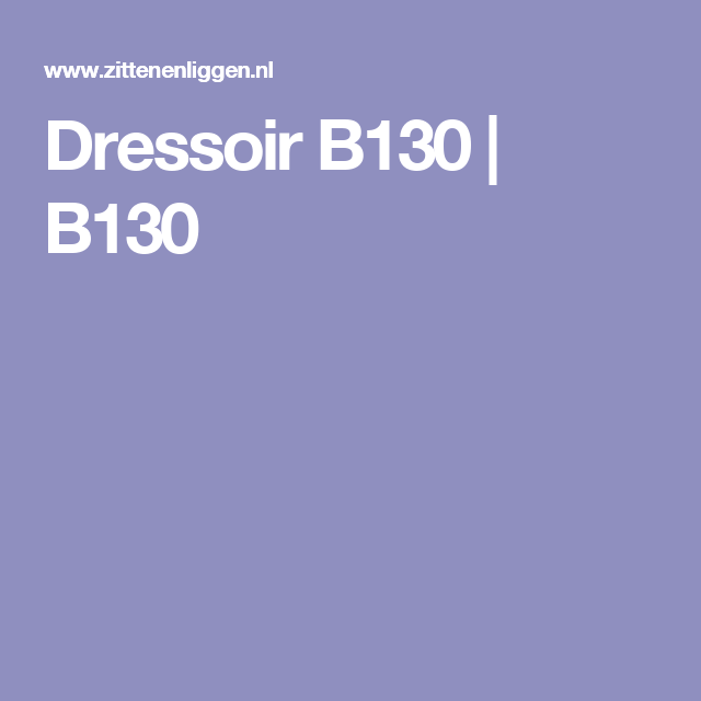 Dressoir B130 | B130