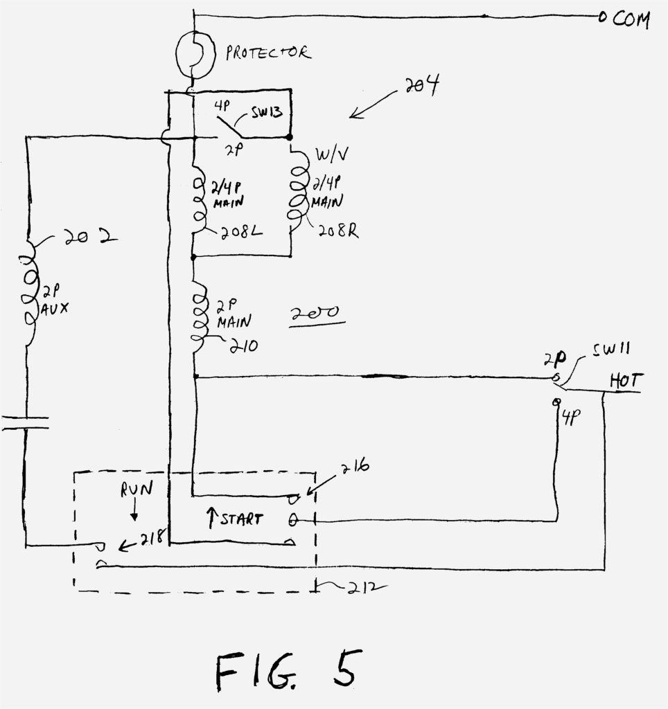 Starting Capacitor Wiring Diagram For Ac Fan Diagrams And
