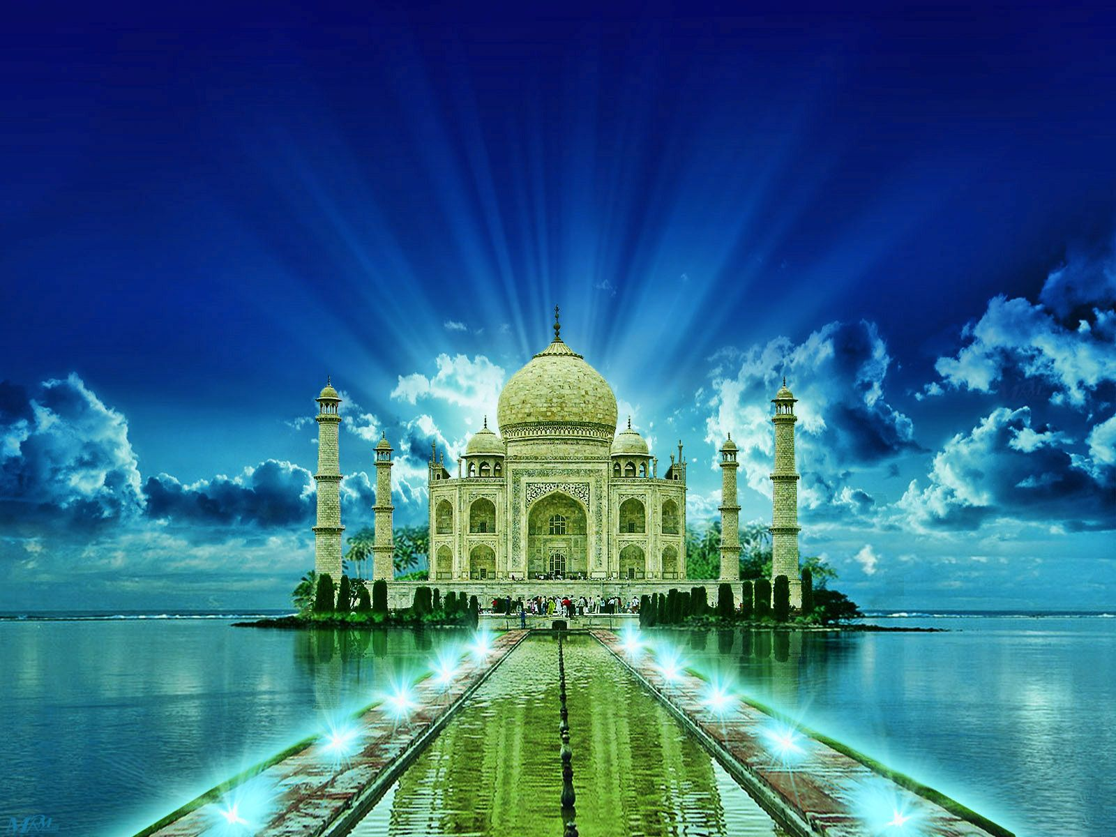 Download The Best Collection Of Attractive Taj Mahal Wallpapers Hd