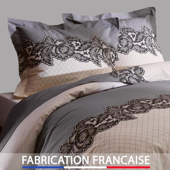 housse de couette love malice + 2 taies d'oreillers http://www