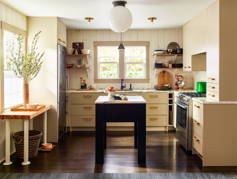 Ikea Kitchen Upgrade A Cost Conscious Modern Country Kitchen With Semihandmade Cabinet Fronts In 2020 Ikea Kitchen Design Modern Country Kitchens Country Kitchen