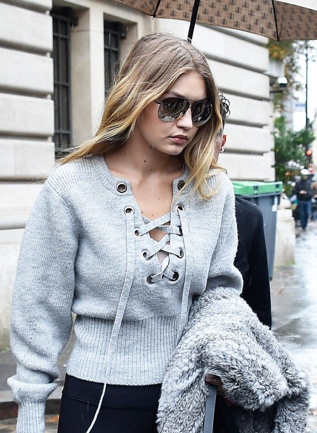 0747c908321 The Only Sweaters You Need, According to Celebs | Celebrities ...