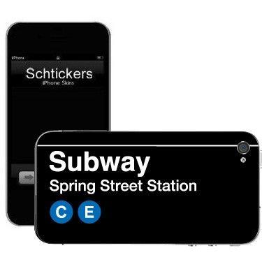 Officially Licensed MTA Skins Spring Street Station