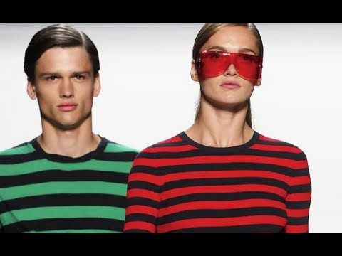 Robots and stripes :NY Fashion Week - Spring Trends @Optivion