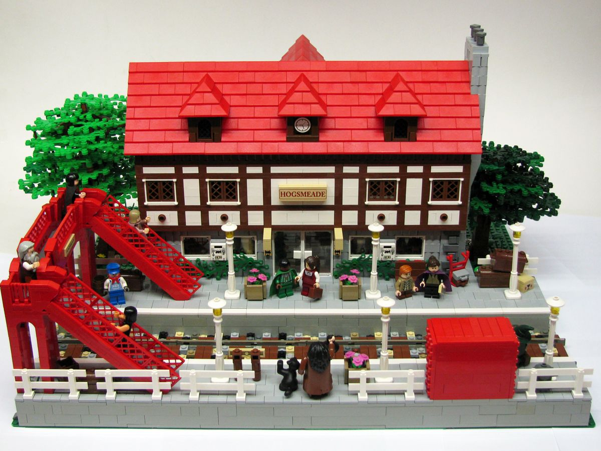 Lego hogsmeade station harry potter