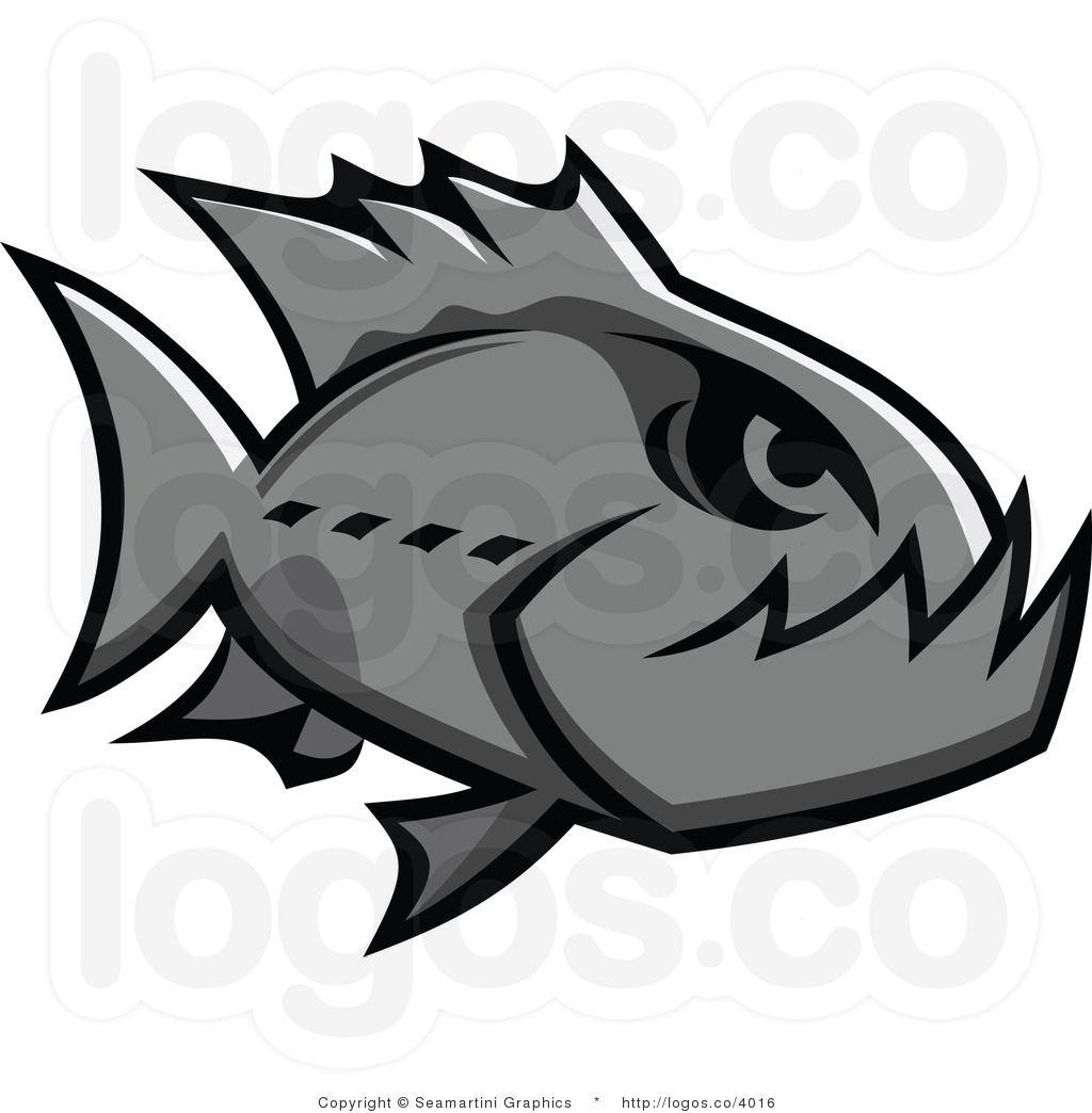 piranha logo - Google Search | piranhas | Pinterest | Camisetas