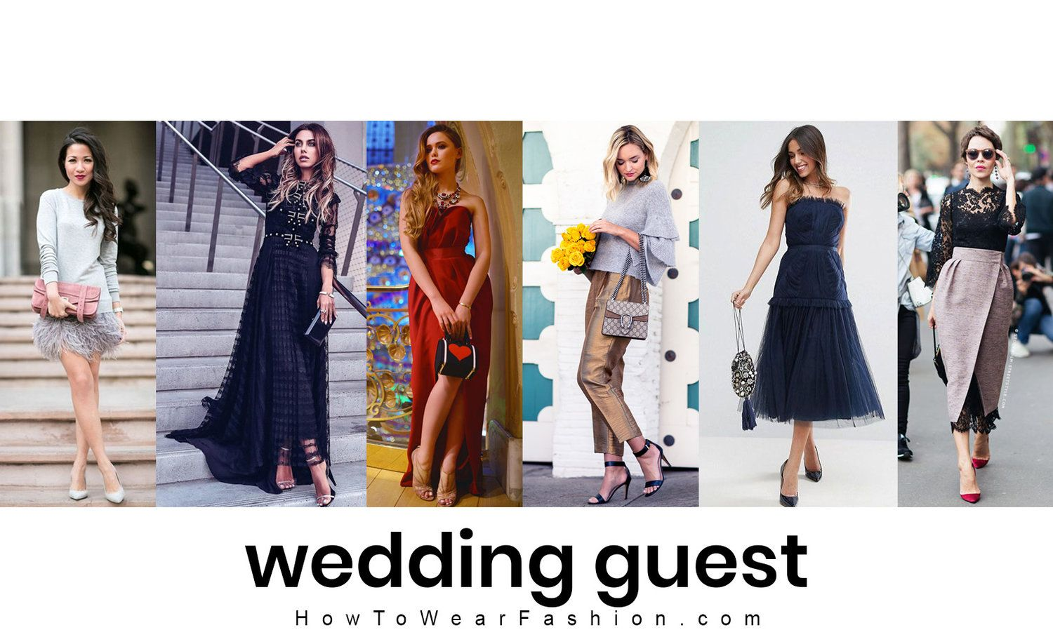 bd0e13ac9f7 What to wear for attending a winter wedding - here s how to style your  wedding guest outfit in December