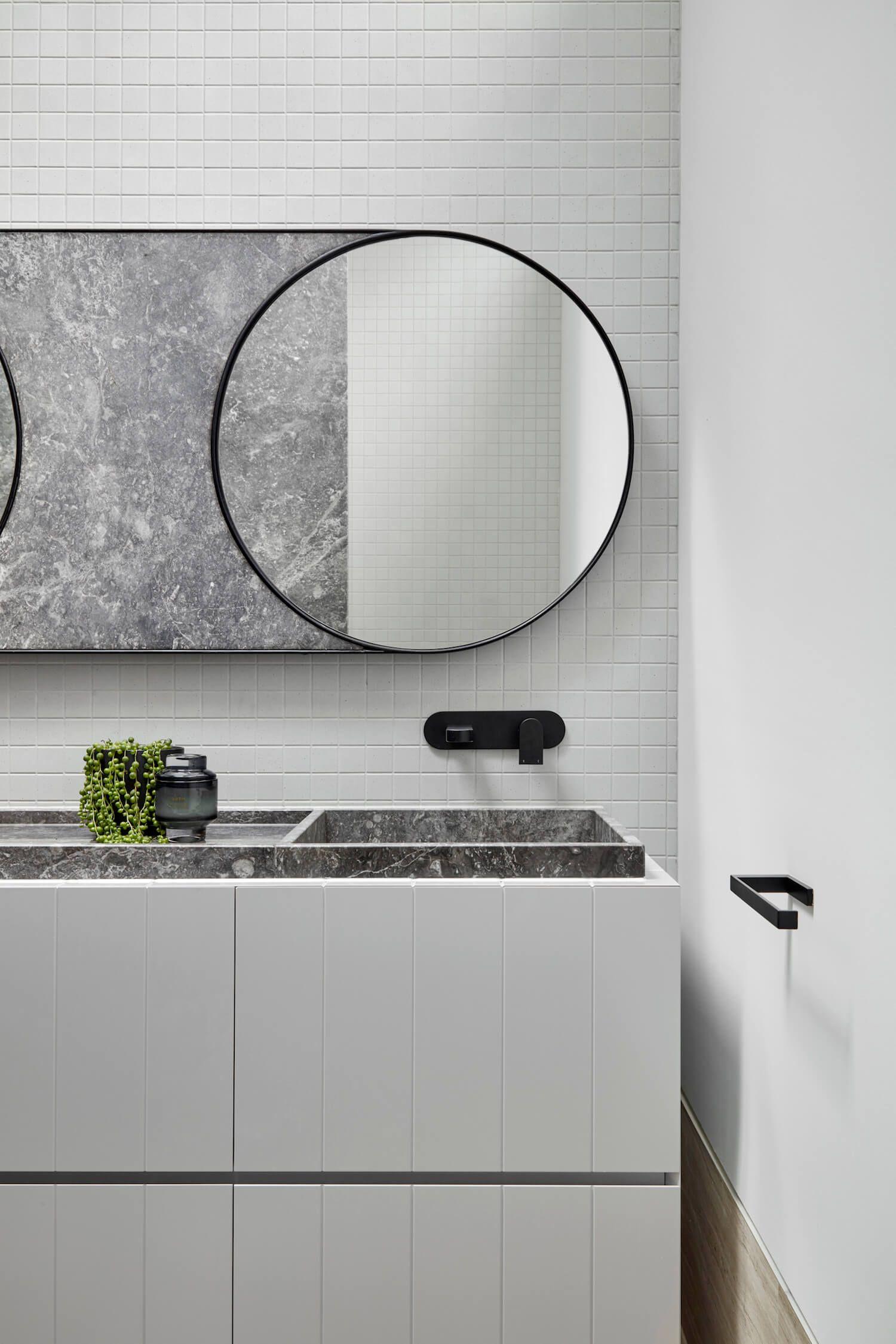 Built In Bathroom Furniture Modern