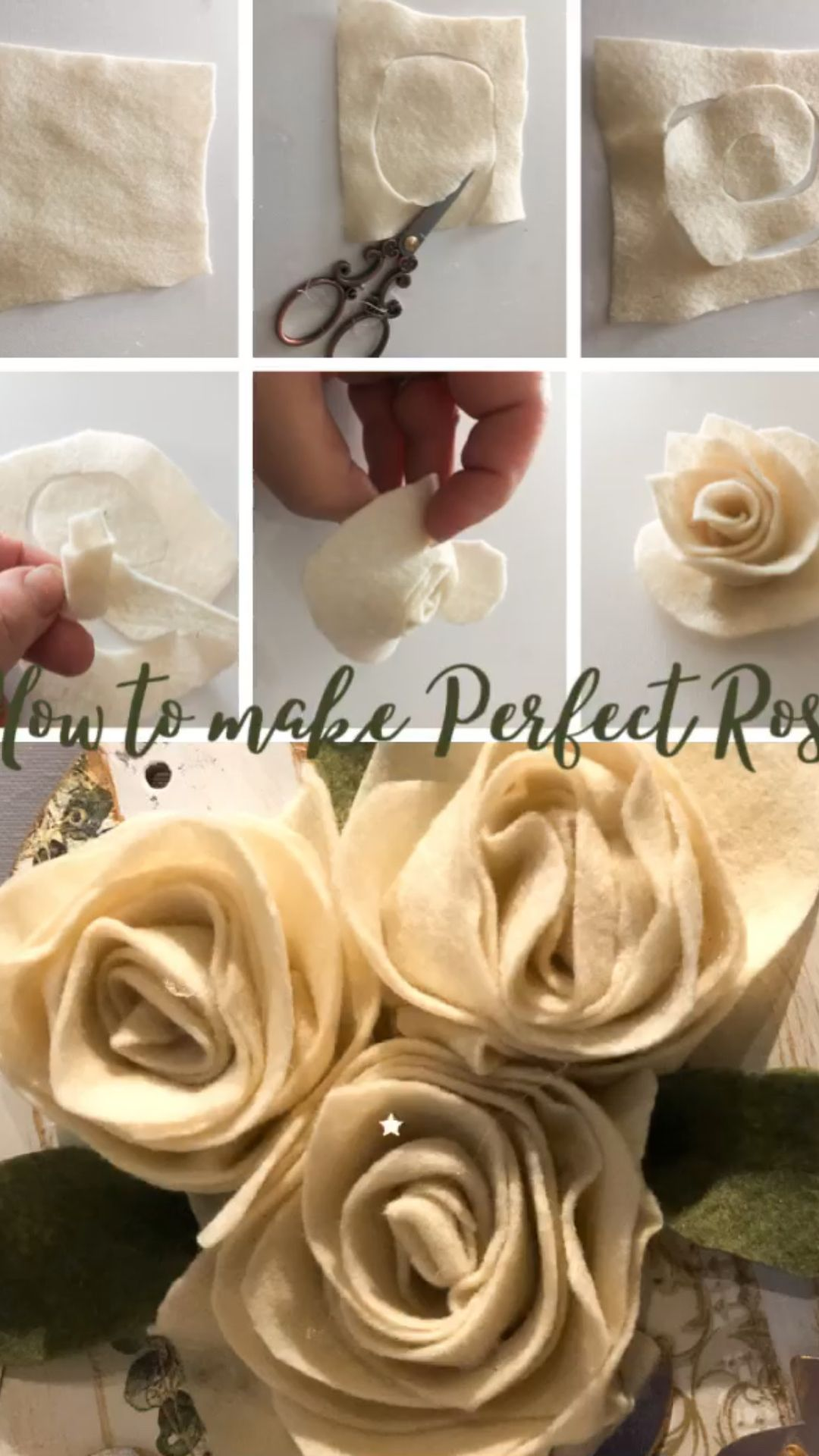 How to make easy rose