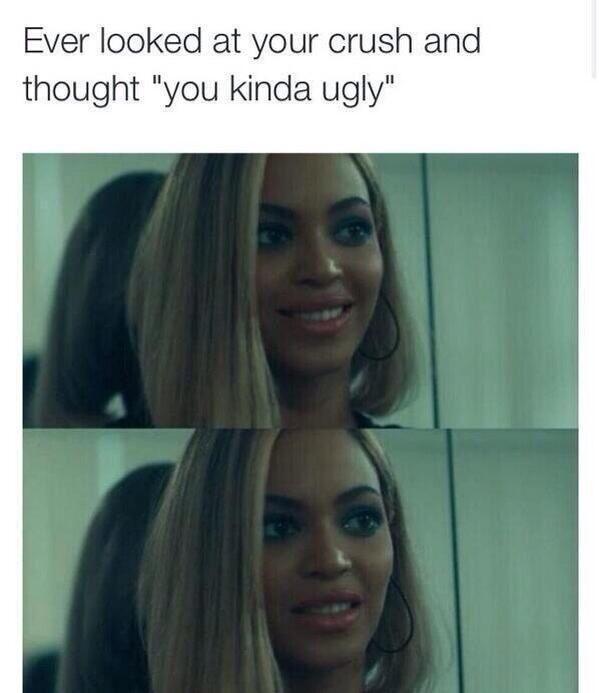 ugly little crush.