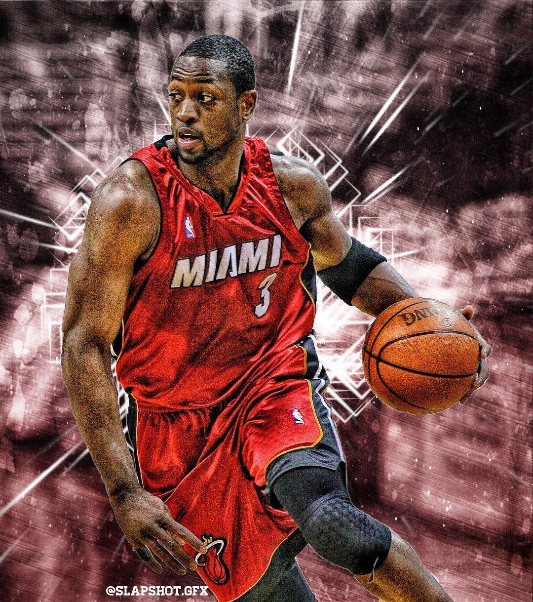 Dwyane Wade Edit Dwyanewade Nhl Nba Sports Nfl Edits Instagram Sportsedits Slapshot Mlb Football Basket Squeeze Pouch New York Yankees Baseballs
