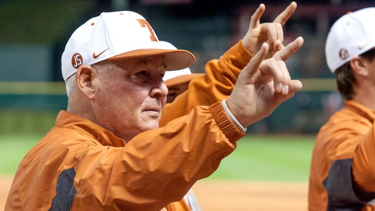 Coaching legend Aug… College world series, Baseball