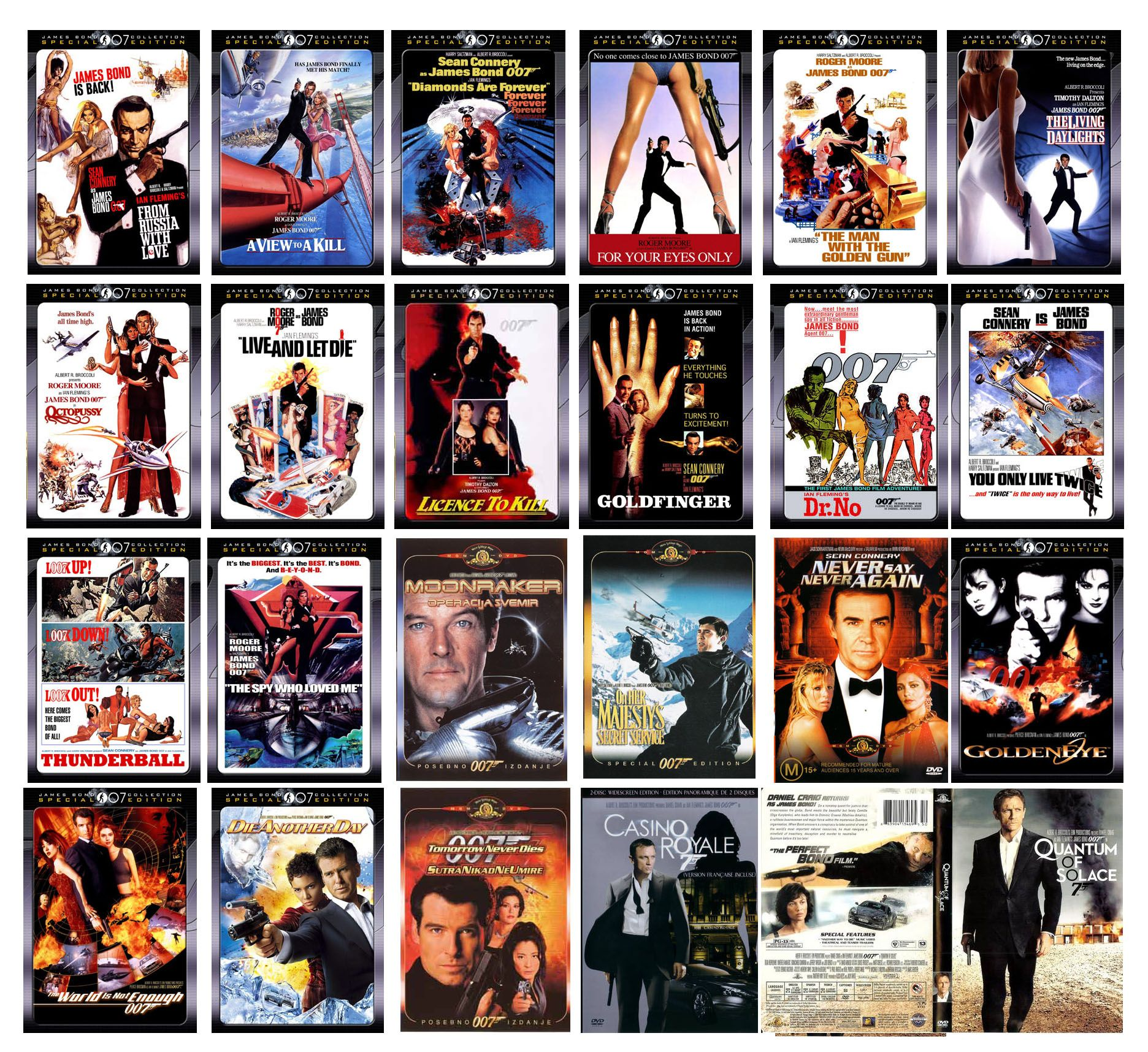 Pin By Frank Juresh Iii On My Movies Tv James Bond Movie Collection Favorite Movies
