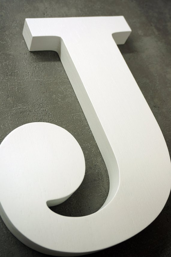 Diy large free standing letters