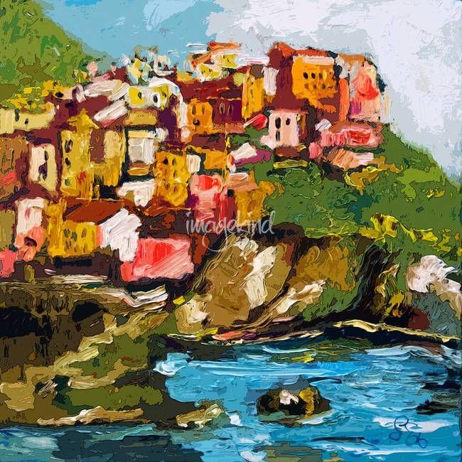 Fine Art Landscape Photo Print Riomaggiore