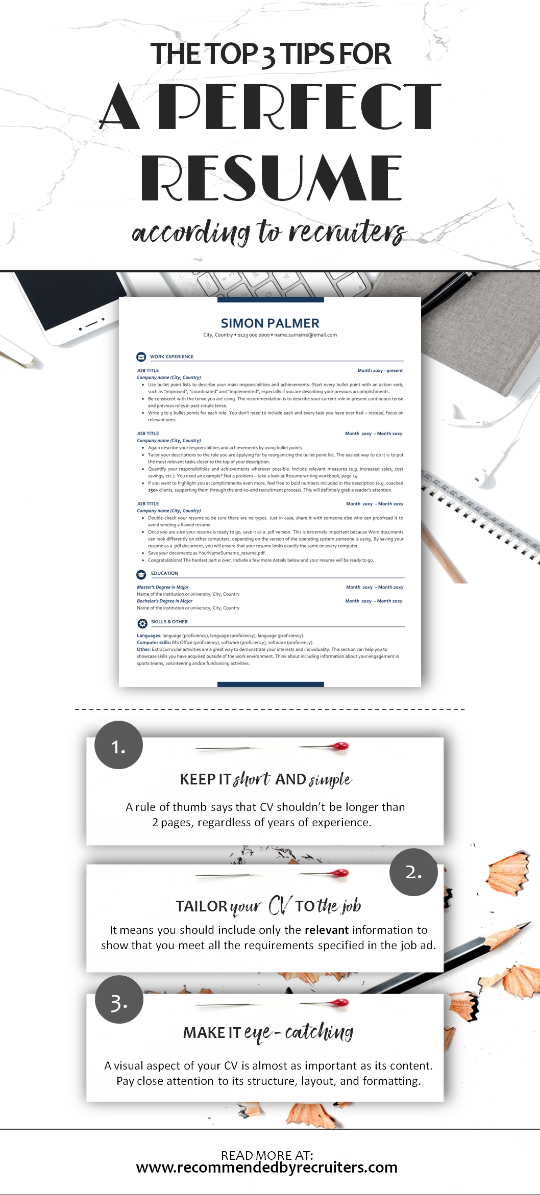 Executive Resume Template ATS friendly Resume Instant