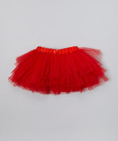 2cc511d044d2 Red Tiered Tutu - Toddler   Girls by Miss Fancy Pants  zulily  zulilyfinds