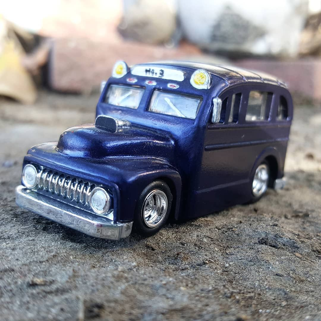 90s car toys  darrelj gifted me this sweet custom School Busted He also