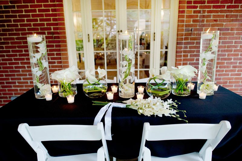 Calla lily centerpiece afloral wedding my