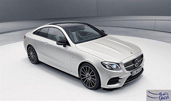 طرح سيارة مرسيدس E Class كوبيه بنسخة محدودة نشرت شركة مرسيدس بنز الألمانية صور وتفاصيل نسختها ا Mercedes E Class Coupe Mercedes Benz Cls Mercedes Benz New Car