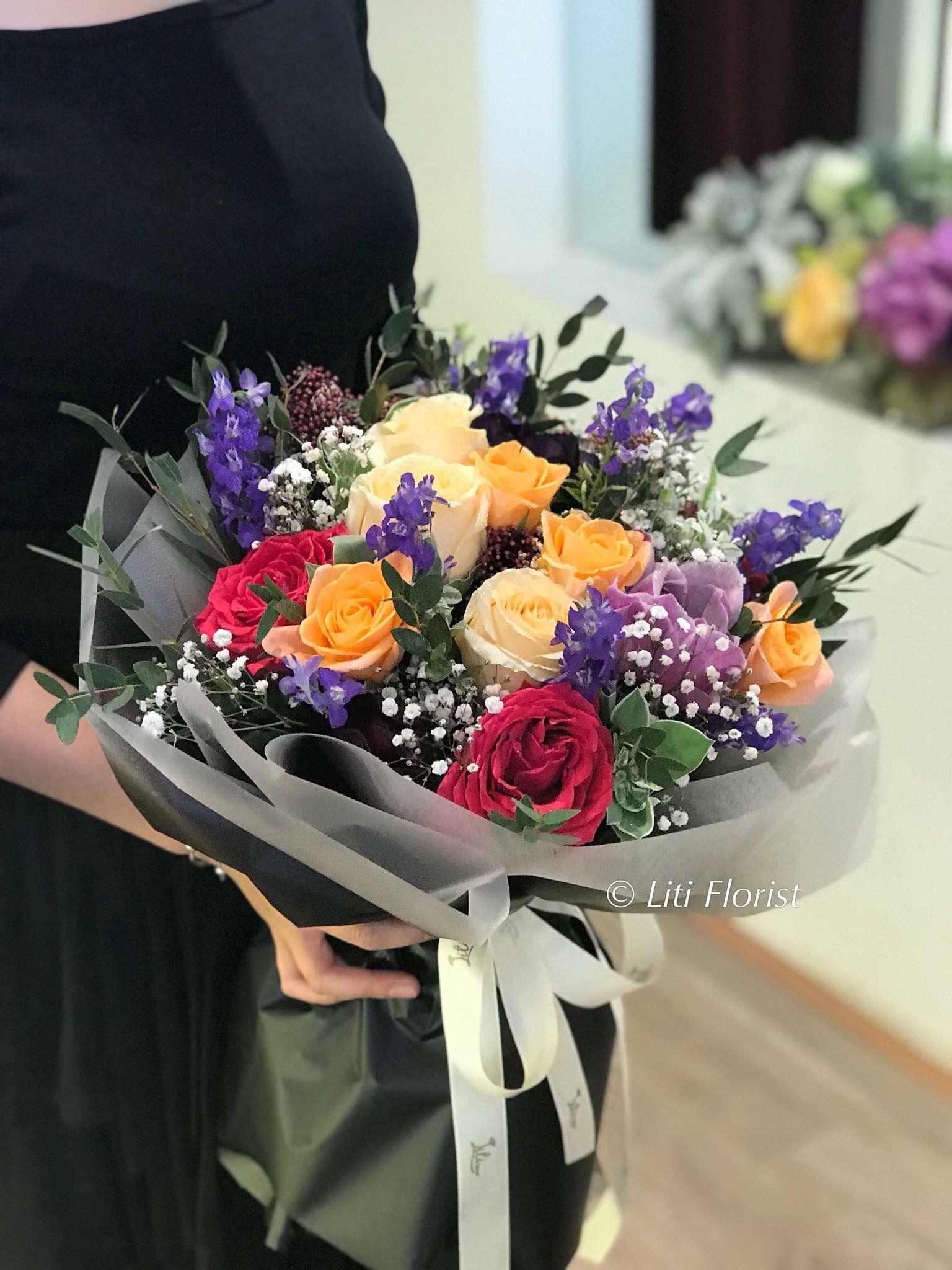Красивые букеты цветов 2018-2019: модные тенденции флористики
