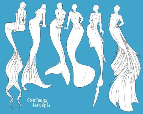 Photo of Pretty Mermaid Clipart and pixelpaperprints digital paper game – Dwg Drawing Download