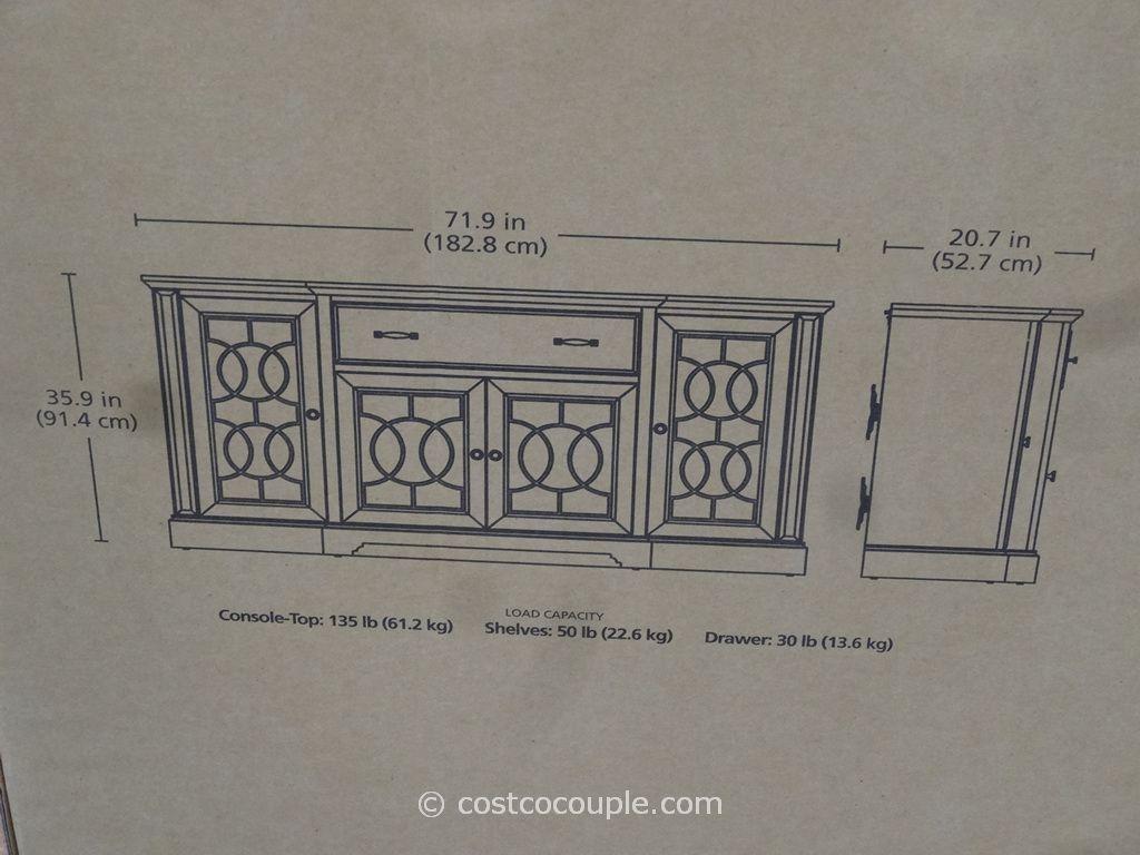 Bayside Furnishings Ashcroft Tv Console Costco Decoration Interieure Decoration Interieur