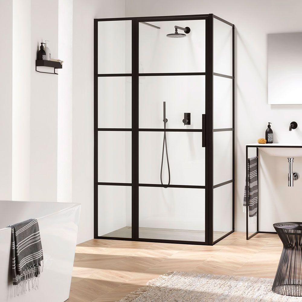 Bathroom Trends 2020 The Best New Looks For Your Space Black Shower Doors Shower Doors