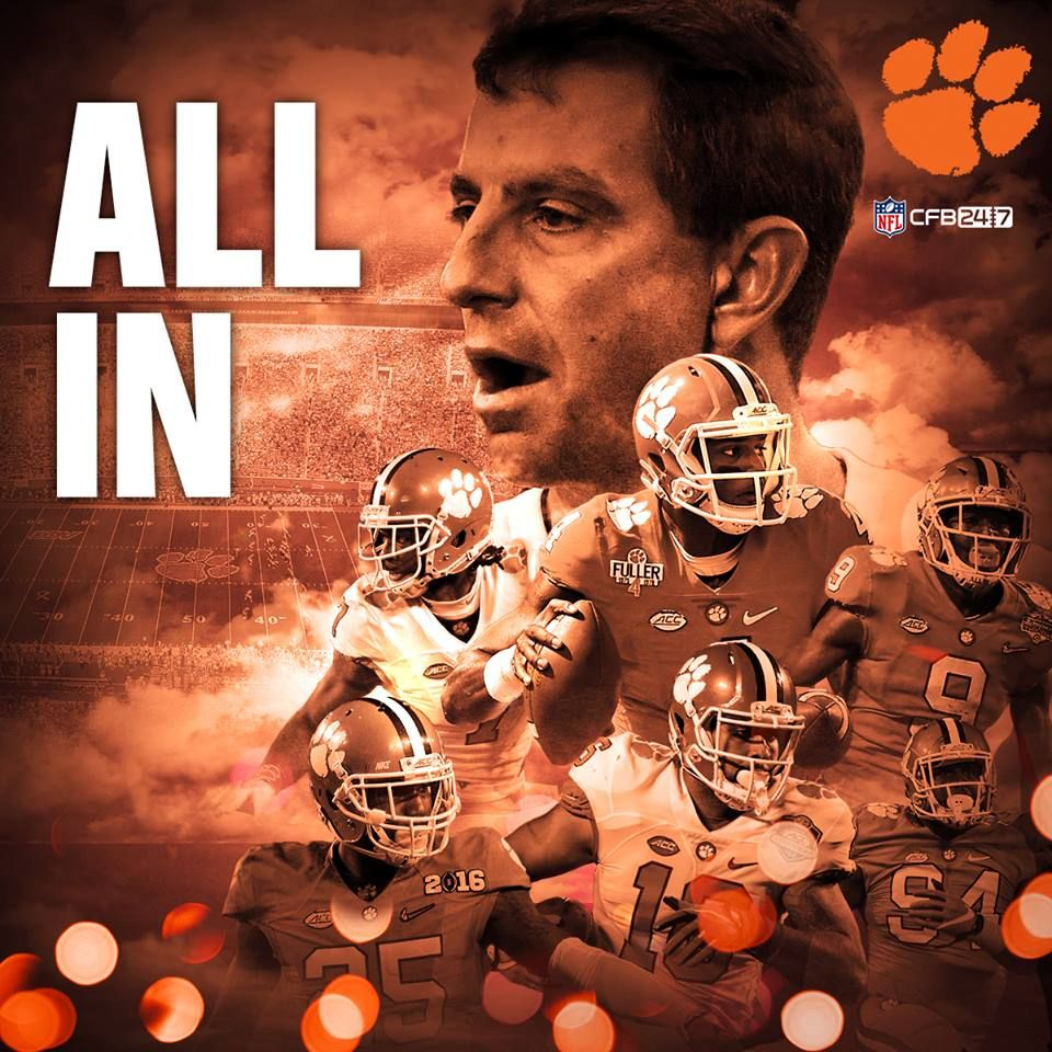 Congratulations Clemsonfb What A Game Movie Posters Poster Movies