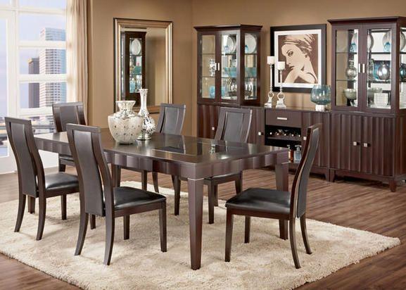 Alegra 5 Pc Dining Room Dining Room Sets Affordable Dining Room Sets Formal Dining Room Sets