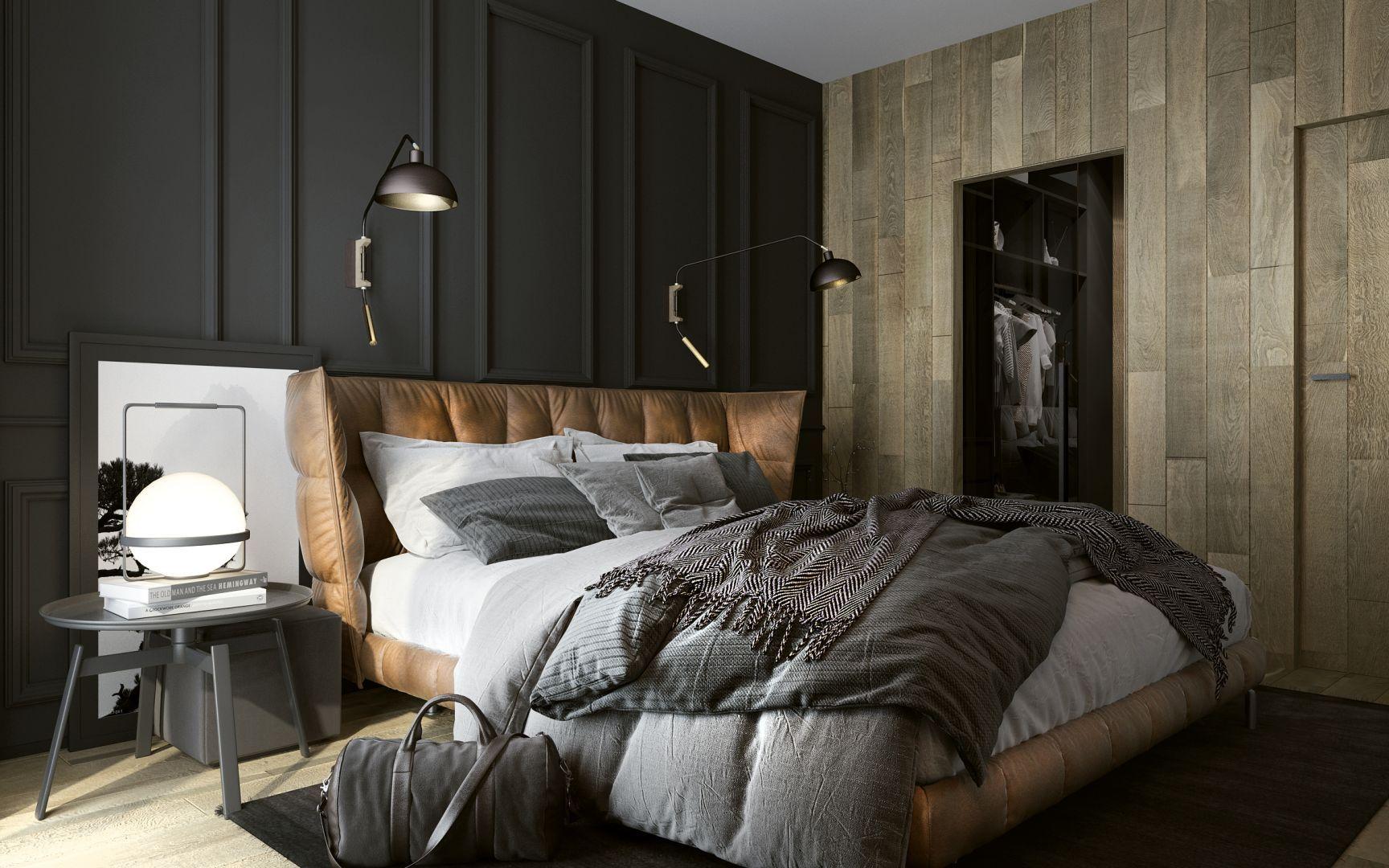 Piękna Sypialnia 15 Pomysłów Na ścianę Za łóżkiem
