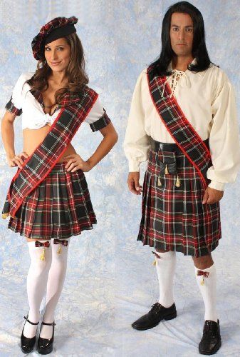 if i can get into good enough shape to wear something like this i like the womans not the mans scottish costume