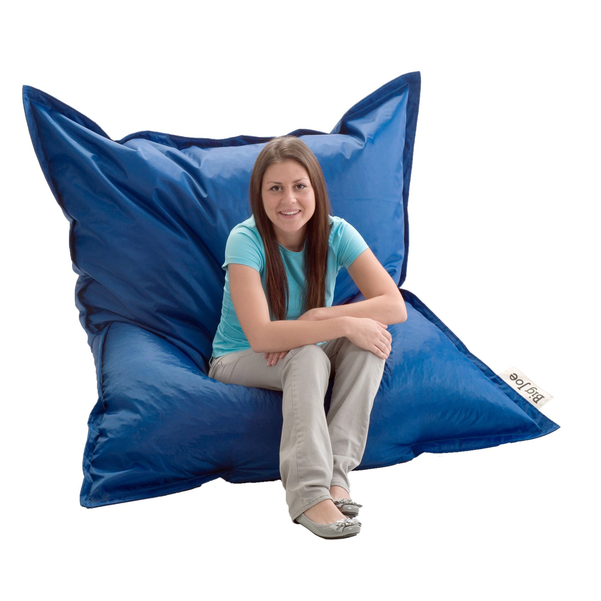 Amazing Comfortable And Durable This Beansack Big Joe Rectangle Caraccident5 Cool Chair Designs And Ideas Caraccident5Info