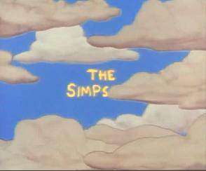 The Simpsons The Simpsons The Simpsons Theme Clouds