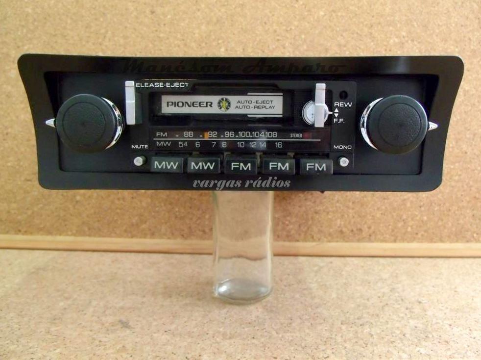 Pioneer Kp 8000 Old School Car Audio Byvargasradios Em 2020 Com