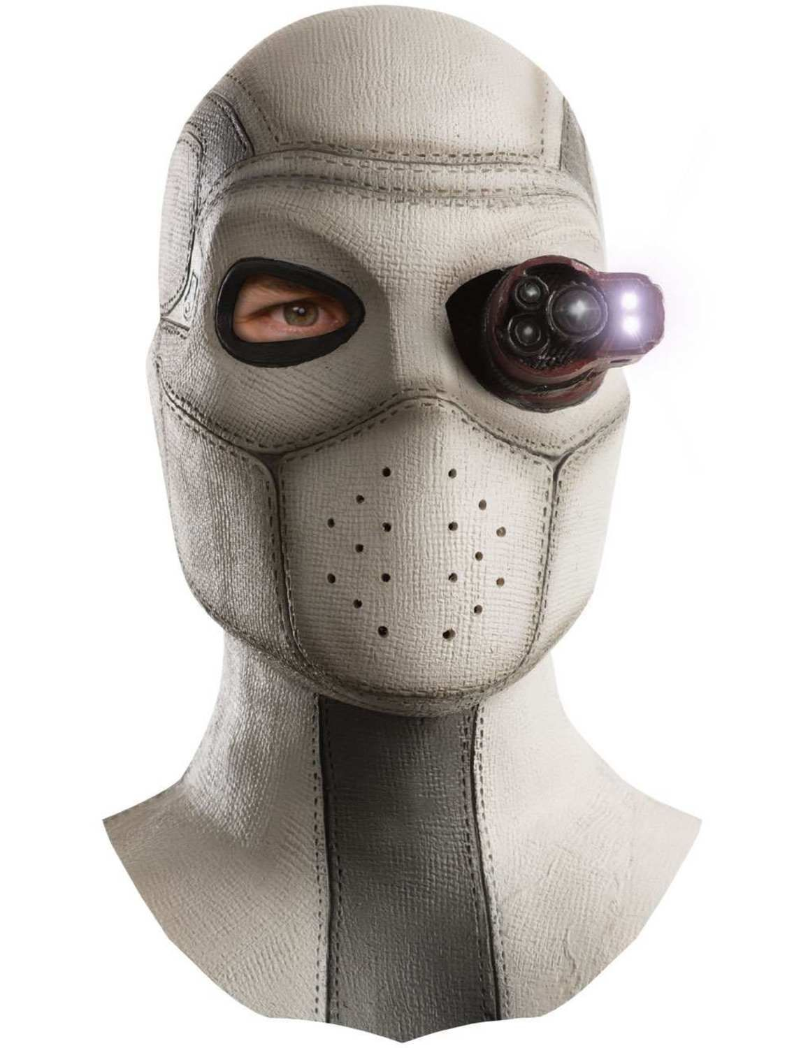 Suicide Squad Deluxe Deadshot Adult Halloween Costume with Mask Pants Eyepiece