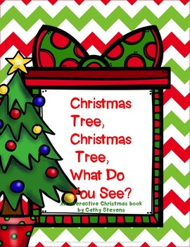 Christmas Tree Christmas Tree What Do You See Interactive Book Interactive Book Holiday Activities Math Counting Activities