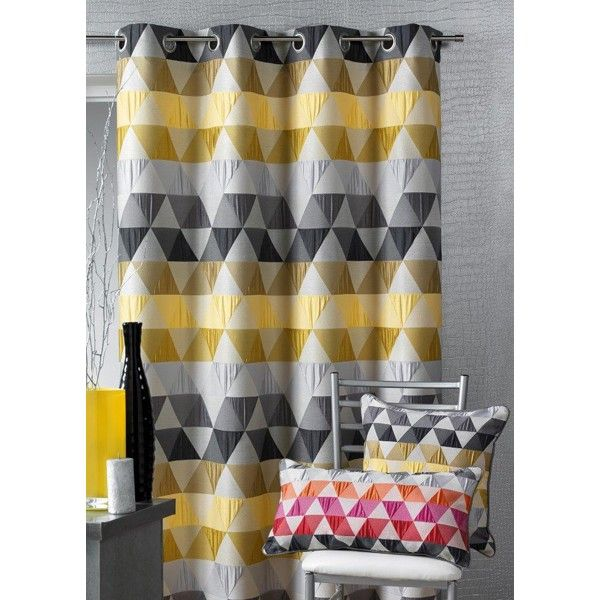 tissu jacquard triangle bambou la maison d 39 ursule. Black Bedroom Furniture Sets. Home Design Ideas
