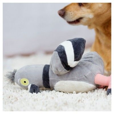 Bark Pigeon Dog Toy Flappin Flossie Gray Products Outdoor