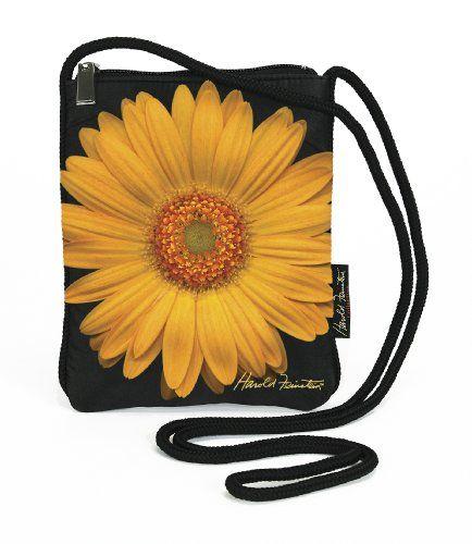 Harold Feinstein By Coyne S Company Yellow Daisy Slim Shoulder Bag For Women