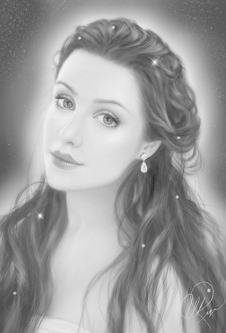 Character Pencilportrait Illustration Drawing Realisticdrawings Portraitillustration Coloredpencildrawings Grayscale Coloring Portrait Grayscale [ 1085 x 736 Pixel ]