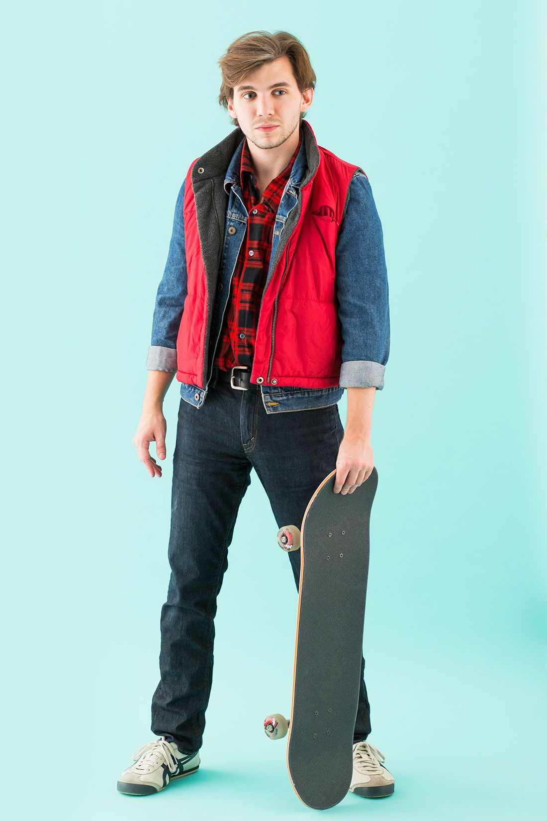 How to Turn 1 Flannel Shirt into 6 Halloween Costumes | Marty mcfly ...