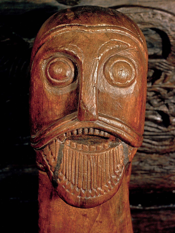 Man s head oseberg viking ship 【歴史】ケルト pinterest vikings