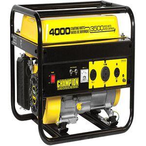 Champion Power Equipment 3500/4000-Watt Portable Gas-Powered RV