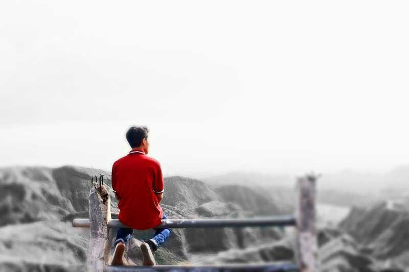 Sometimes alone it's better to think about our future