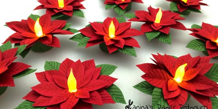 Poinsettia candle tea light poinsettia craft ideas pinterest poinsettia candle tea light poinsettia mightylinksfo